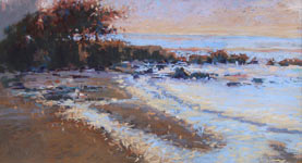 "Ann McMillan - ""Carmel Beach Evening"""