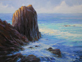 "Ann McMillan - ""Rocky Point Early In The Day"""
