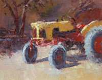 "Ann McMillan - ""Big Yellow Tractor"""