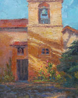 "Ann McMillan - ""Sun And Shadow At Carmel Mission"""
