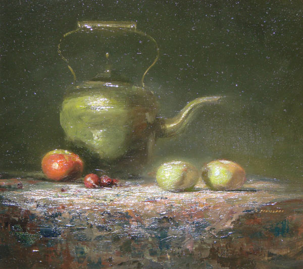"Lindy Schillaci - ""Kettle And Apples"""